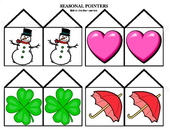 "Calendar Wall and Seasonal Pointers plus ""Months of the Year"" song (MP3)"