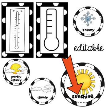 Calendar Weather Cards