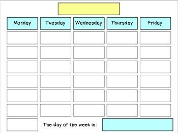 Calendar, Weather, & Feelings