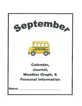 Calendar, Weather Graph, Journal, and Personal Information Unit for 2014-15