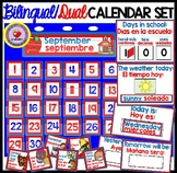 Calendar Weather Set DUAL/BILINGUAL