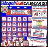 Calendar Weather Set DUAL/BILINGUAL