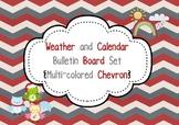 Calendar, Weather and Time Intervals Bulletin Board Set (M