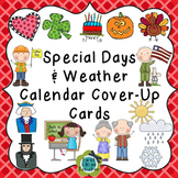Special Days & Weather Calendar Cover-Up Cards