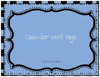 Calendar Work