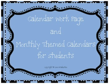 Calendar Work and Calendars