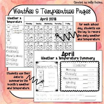 Calendar Workbook: April