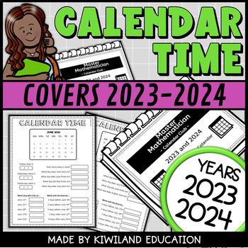 Calendar worksheet booklet 2018 and 2019 by kiwiland tpt calendar worksheet booklet 2018 and 2019 ibookread Download
