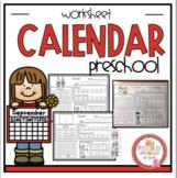 """Calendar Worksheets """"No Prep"""""""