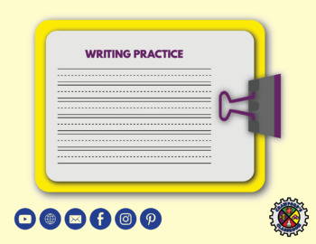 Calendar Writing Practice