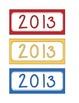 Calendar Year Labels
