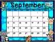 Calendar - Zoo Theme - School Year Calendar