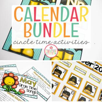 Calendar and Circle Time Bundle