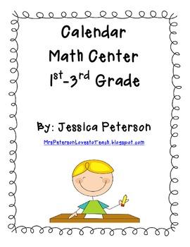 Calendar and Math Center
