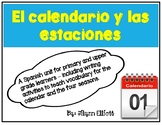 Calendar and Season Activities in Spanish