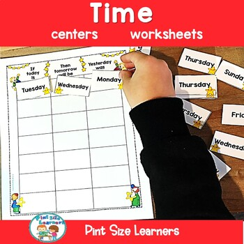 Calendar and Time Center Activities and Worksheets