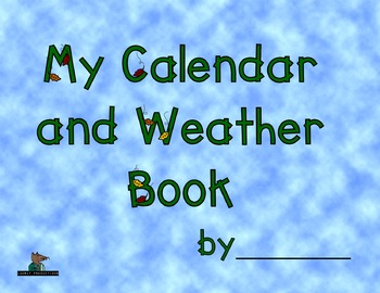 Calendar and Weather Book