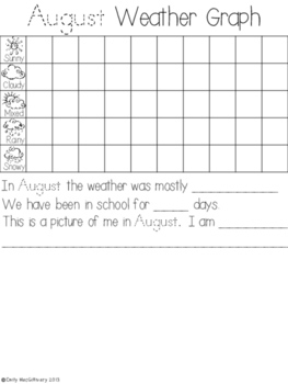 Calendar and Weather Book (With Yearly Updates)