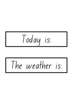 Calendar and Weather Chart