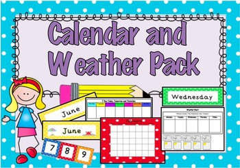 Calendar and Weather Pack