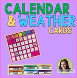 Calendar and Weather Pocket Chart Cards