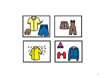 Calendar and Weather - Special Education; Autism; Pre-K; Kindergarten; Centers