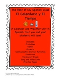 Calendar and Weather Unit in Spanish that you and your stu