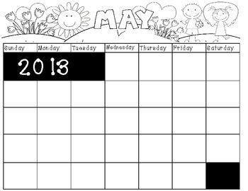 Calendar book-May