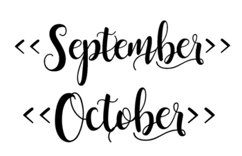 Calendar for 2016/2017 School Year - Black and White
