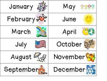 Calendar for Kids!