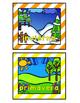 Calendar in Spanish {Bright Stripes}