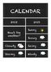 Calendar kit 2018-2019