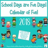 Calendar of Fun 2018