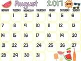 Calendar on Activinspire