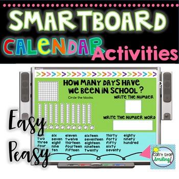 Calendar on the Whiteboard