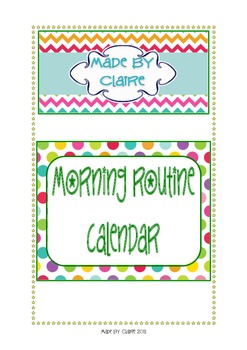Calendar pack {Colored Spots}