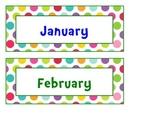 Calendar pack sample {Colored Spots}