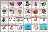 Calendar symbols weather special ed elementary calendar days of week weather