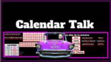 Calendar talk slides presentation for Spanish