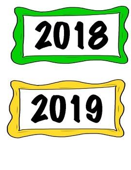 Calendar years 2016-2019