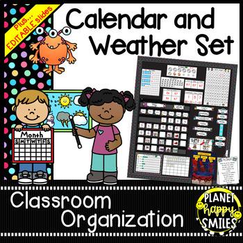 Calendar/Weather Set ~ Monsters