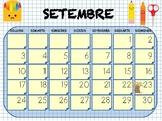 Calendari aula 2018-19