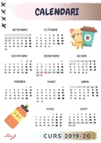 Calendari escolar curs 2019/20
