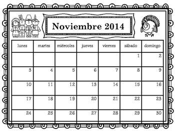 Calendario 2014-2015