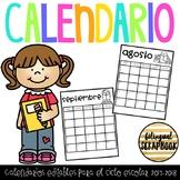 Calendario 2017-2018 (Editable Calendar)