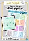 Calendario 2020 España