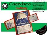 Calendario Monthly Calendars Sample