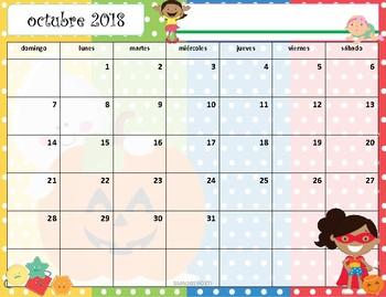 Calendario Académico 2018-2019 Kari Bolt