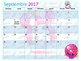Calendario Académico Agosto 2016 - Mayo 2017 Shopkins