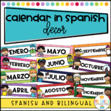 Calendar in Spanish - Calendario en Espanol